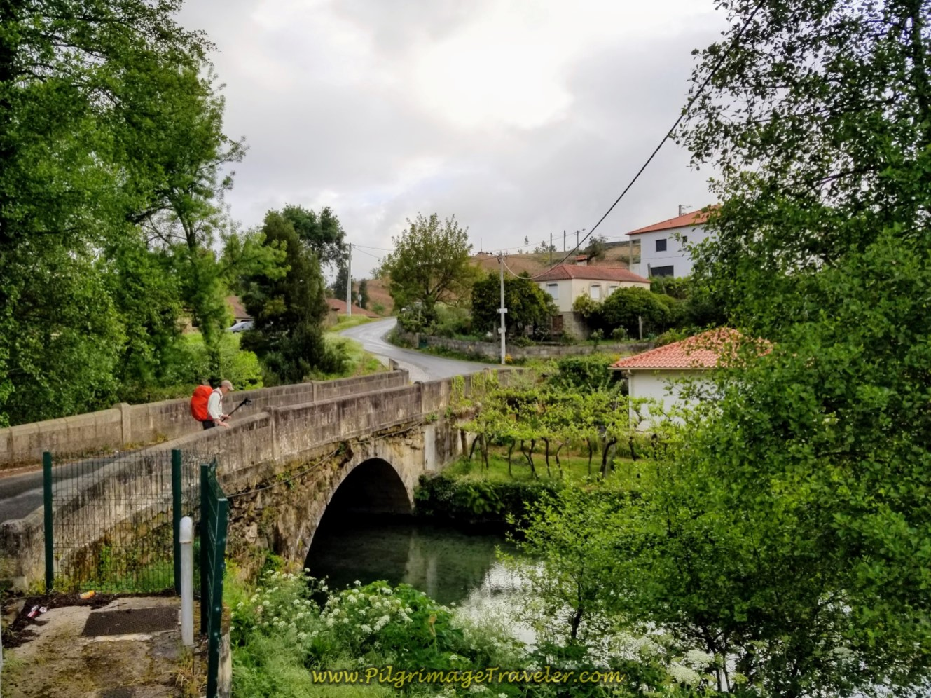 Ponte do Arco da Geia, Roman Bridge on day eighteen on the Central Route of the Portuguese Camino