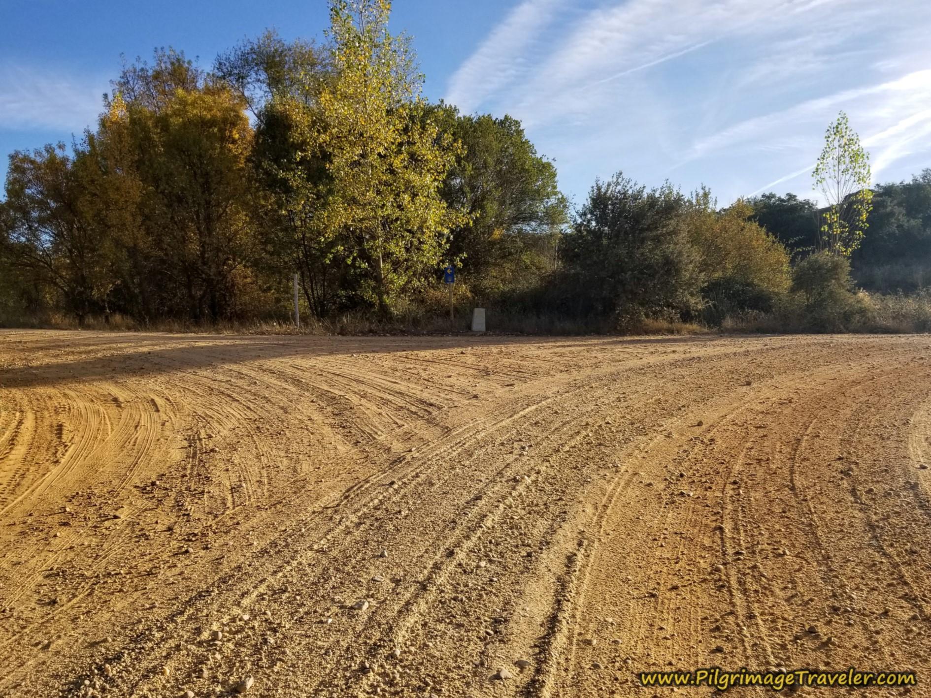 Joining Main Camino, Turn Left