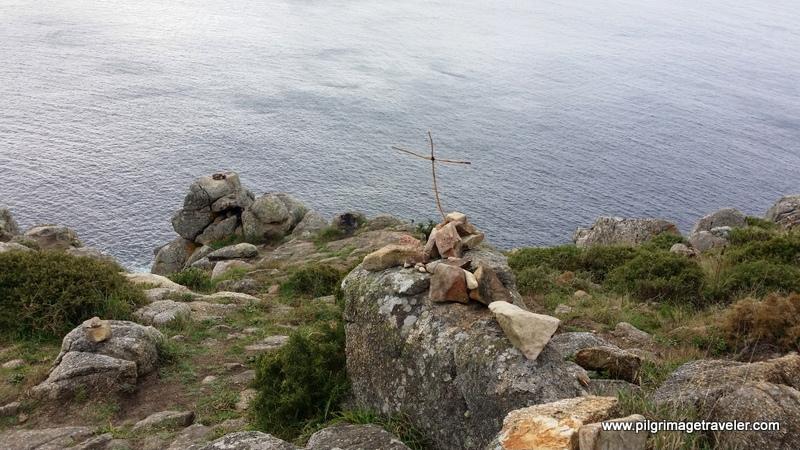 Rudimentary Cross Monument, Cabo Fisterra, Spain