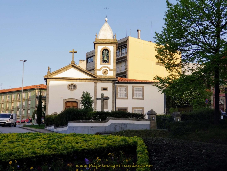 Capela da Ramada Alta in Porto on day fifteen on the Central Route of the Camino Portugués