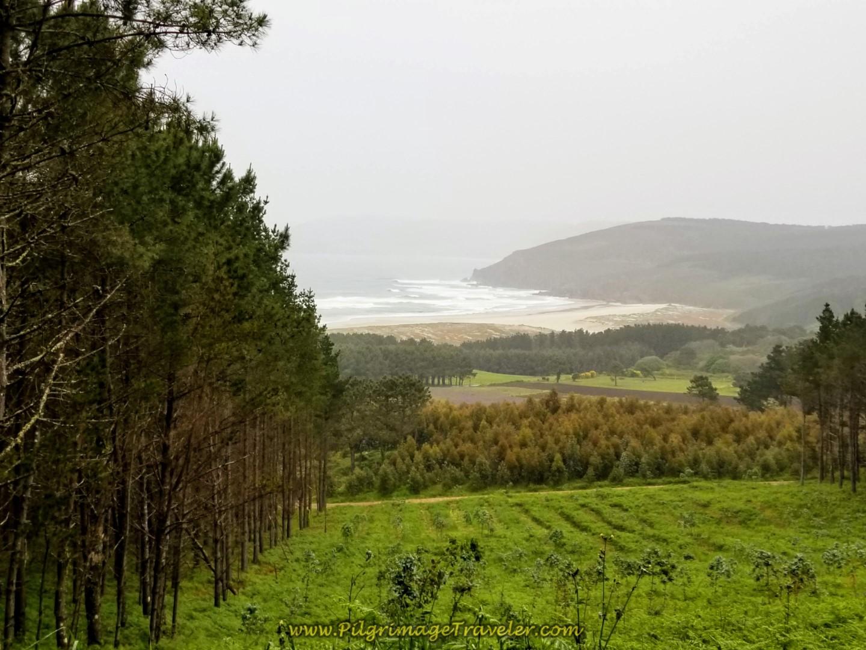 Praia do Rostra on the Camino de Finisterre a Muxía