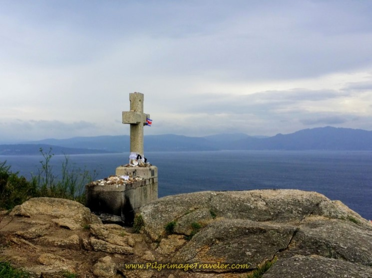 The Stormy Sea and Cross with Shell Momentos