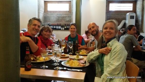 Photo of Camino Family at the Casa Manolo