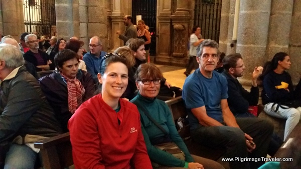 Photo of Camino Family at the Cathedral of Santiago de Compostela