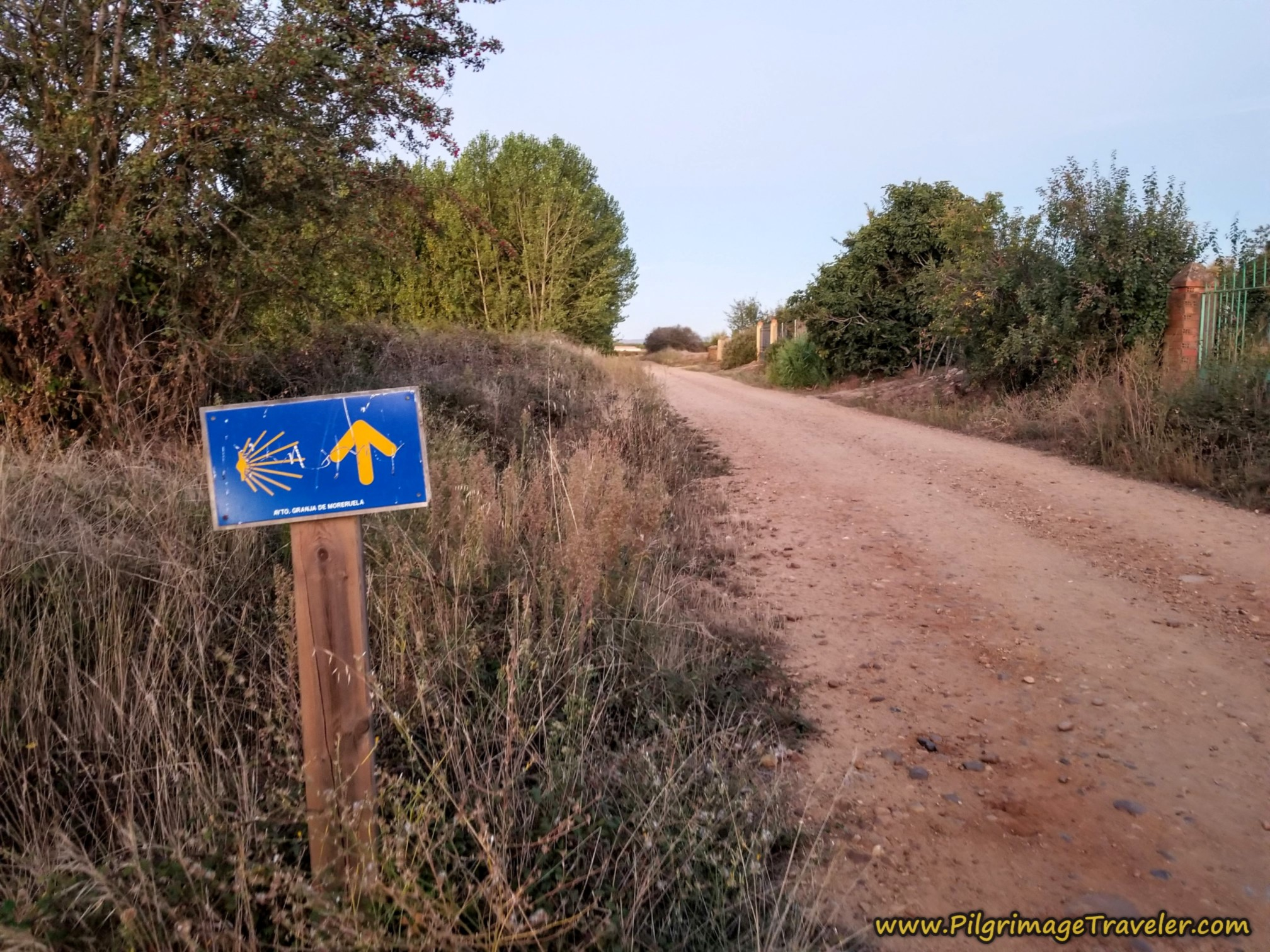 Road Ahead on the Camino Sanabrés from Granja de Moreruela to Tábara