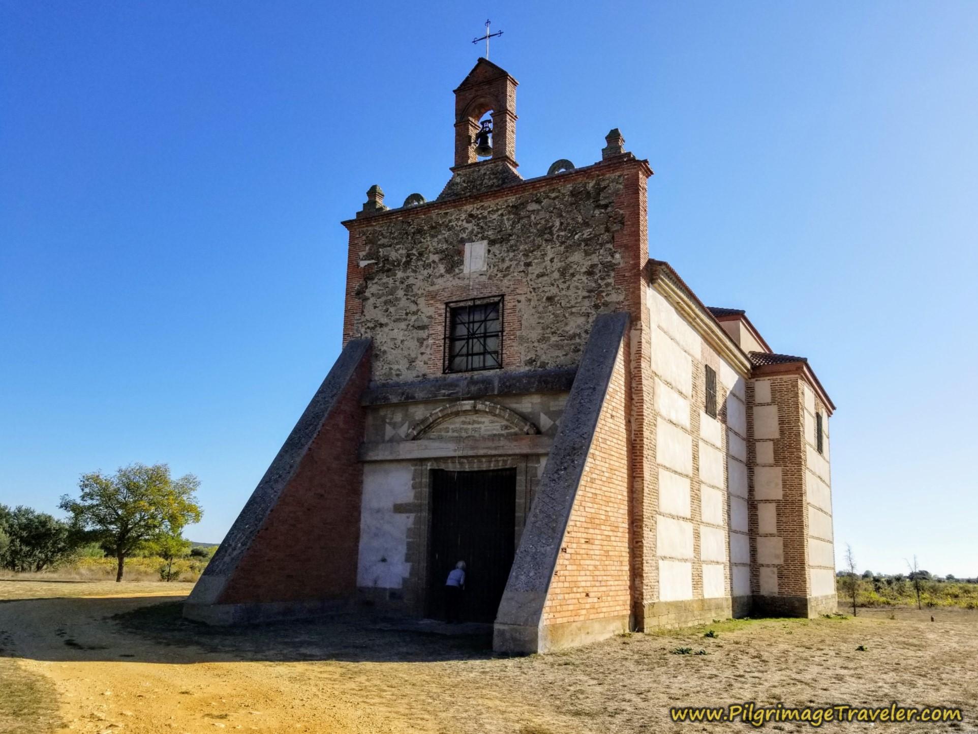 Ermita Nuestra Señora de Agavanzal on the Camino Sanabrés from Santa Marta de Tera to Rionegro del Puente