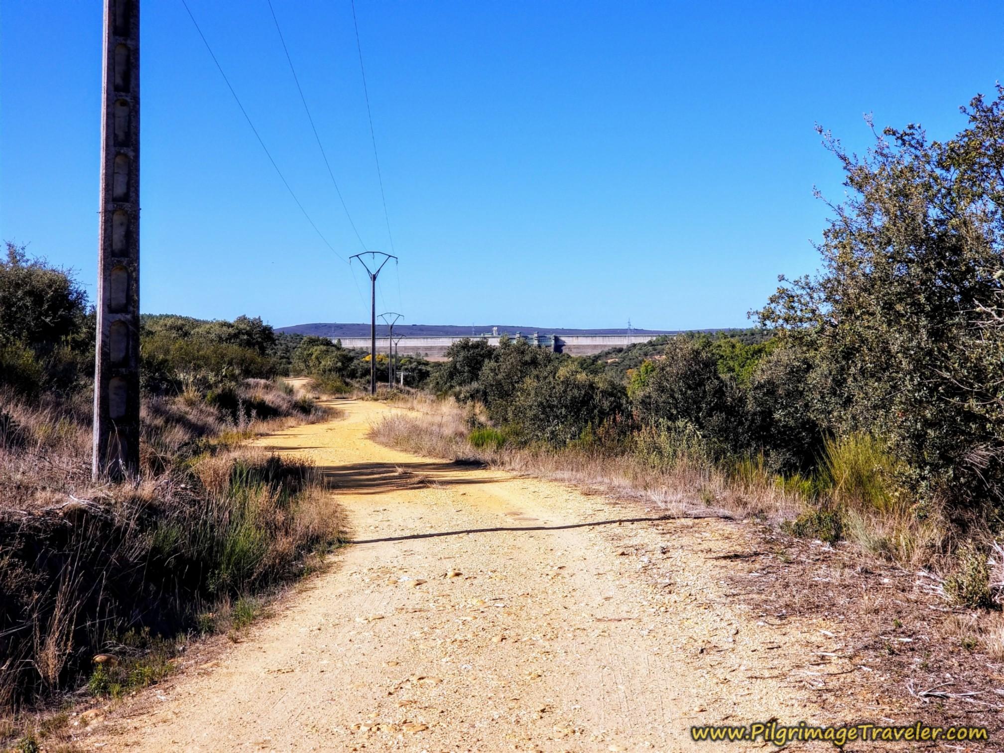 Southward Lane Follows the Río Tera