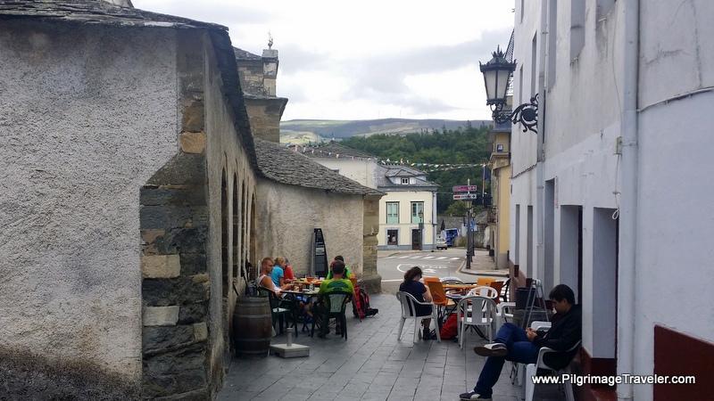 Café Bar Centro in Grandas de Salime along the Camino Primitivo