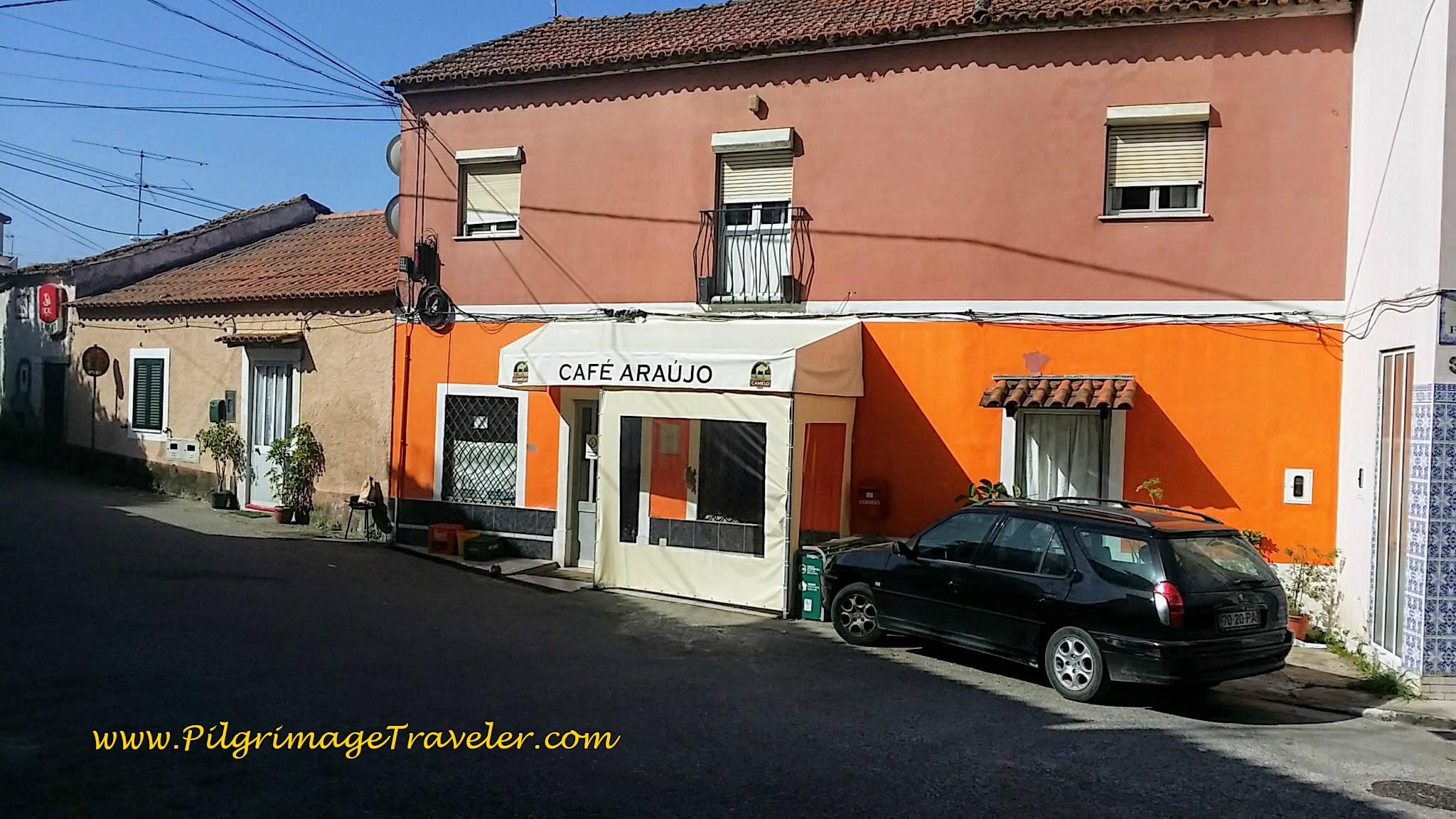 Café Araújo, Cruz dos Morouços, Portugal