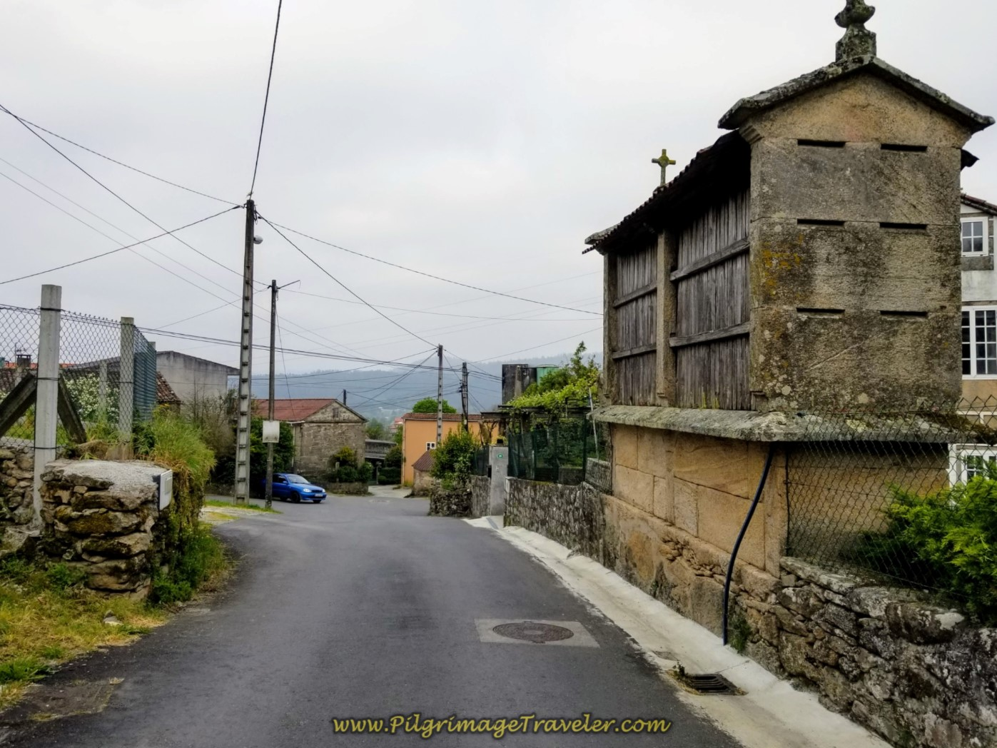 Pass by Horreo in Ventosa on Day One, Camiño Fisterra