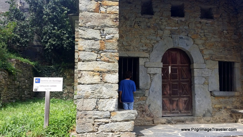 Capilla de Carmen, Grandas de Salime, Asturias, Spain