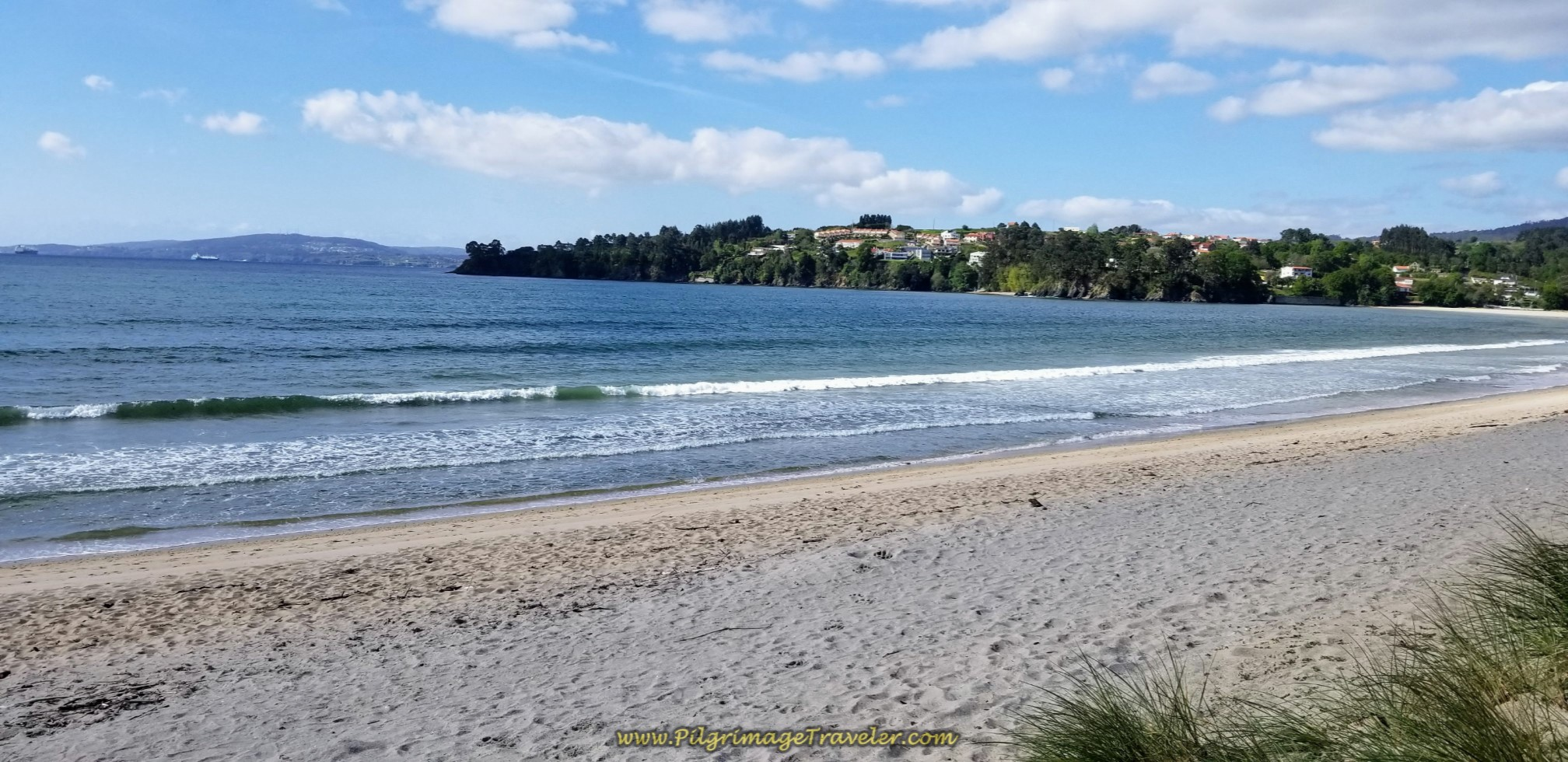 Praia Grande de Miño on day three of the English Way