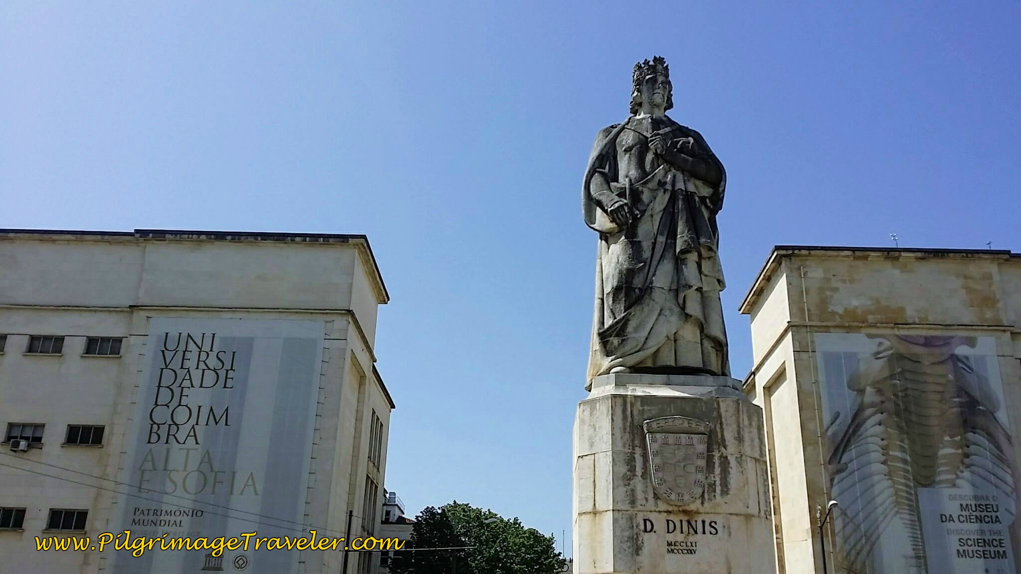 Statue of King D. Dinis, Founder of the University of Coimbra