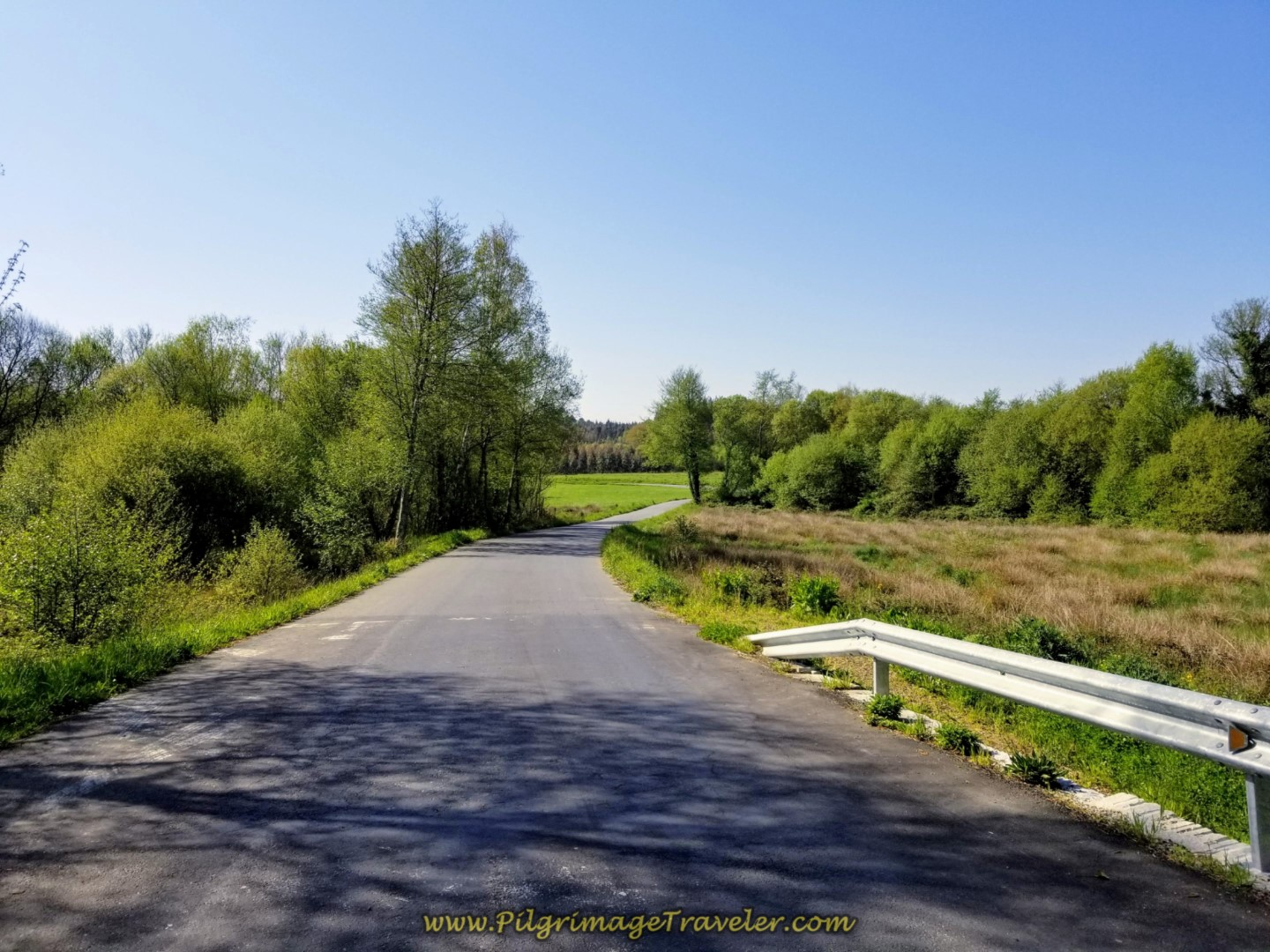 Join Pavement For 700 Meters on day seven of the English Way