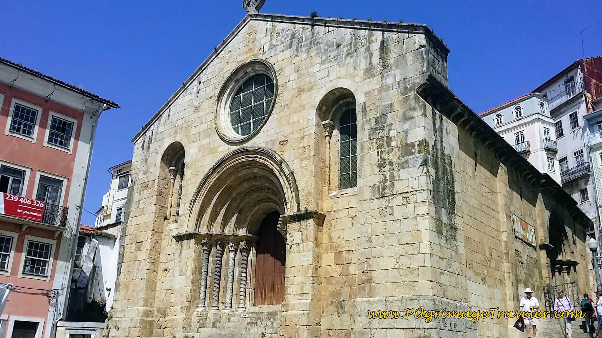 Igreja de São Tiago, Church of Santiago, Coimbra, Portugal