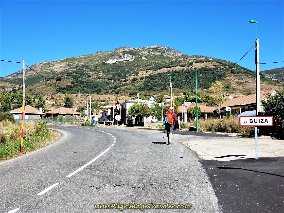 Entering Buiza Town Limits