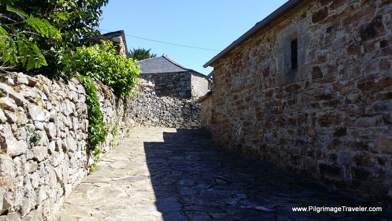 Walking Through A Fontaneira, Galicia, Spain