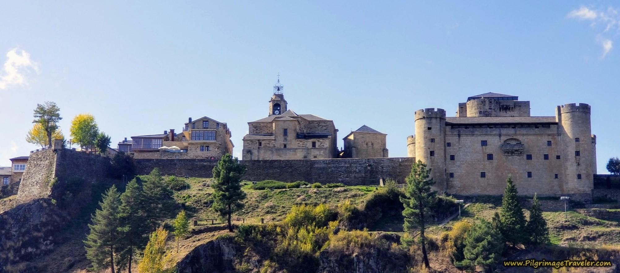 The Fortress Hill of Puebla de Sanabria