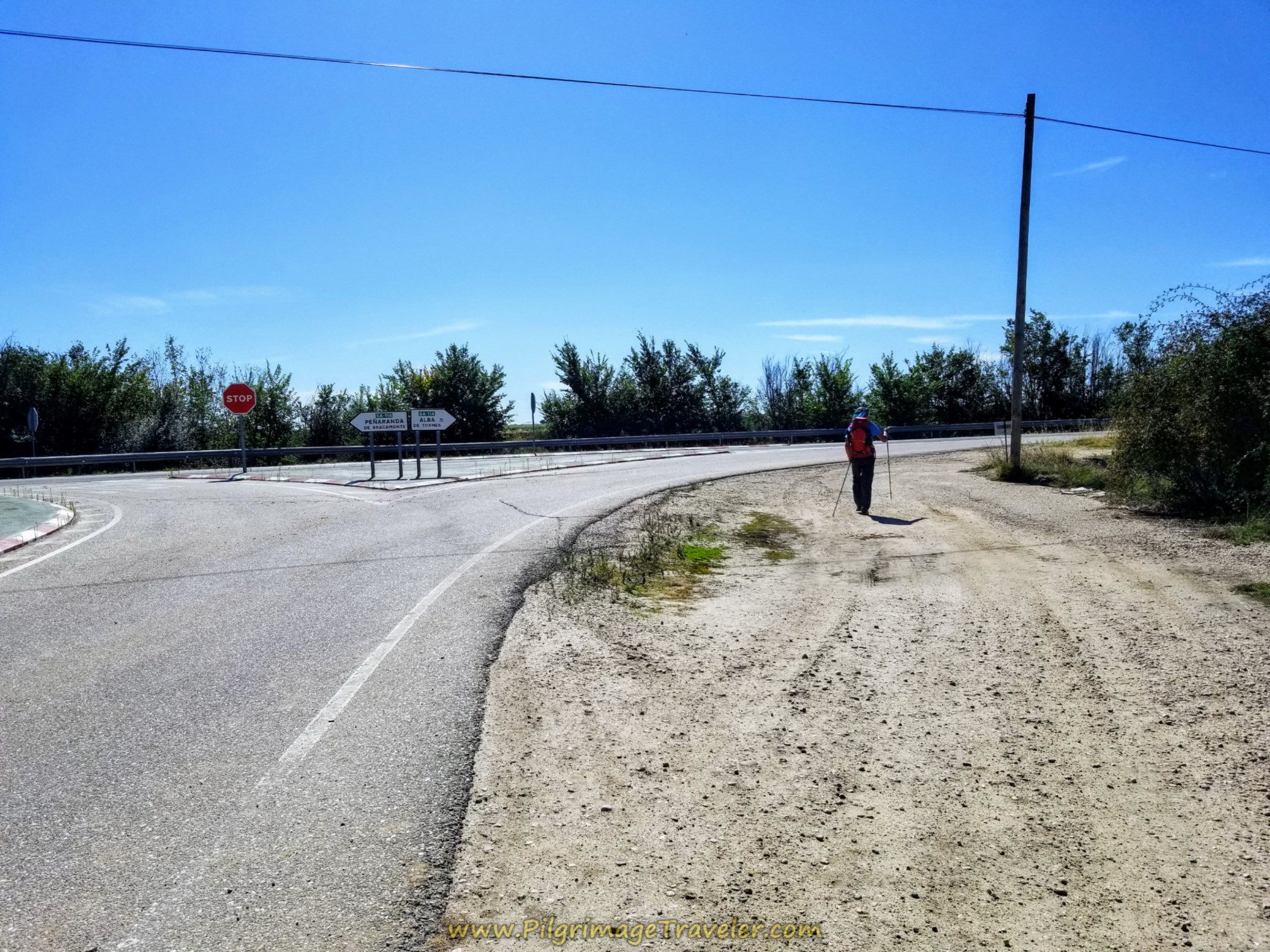 Right Turn Onto SA-114 Frontage Road