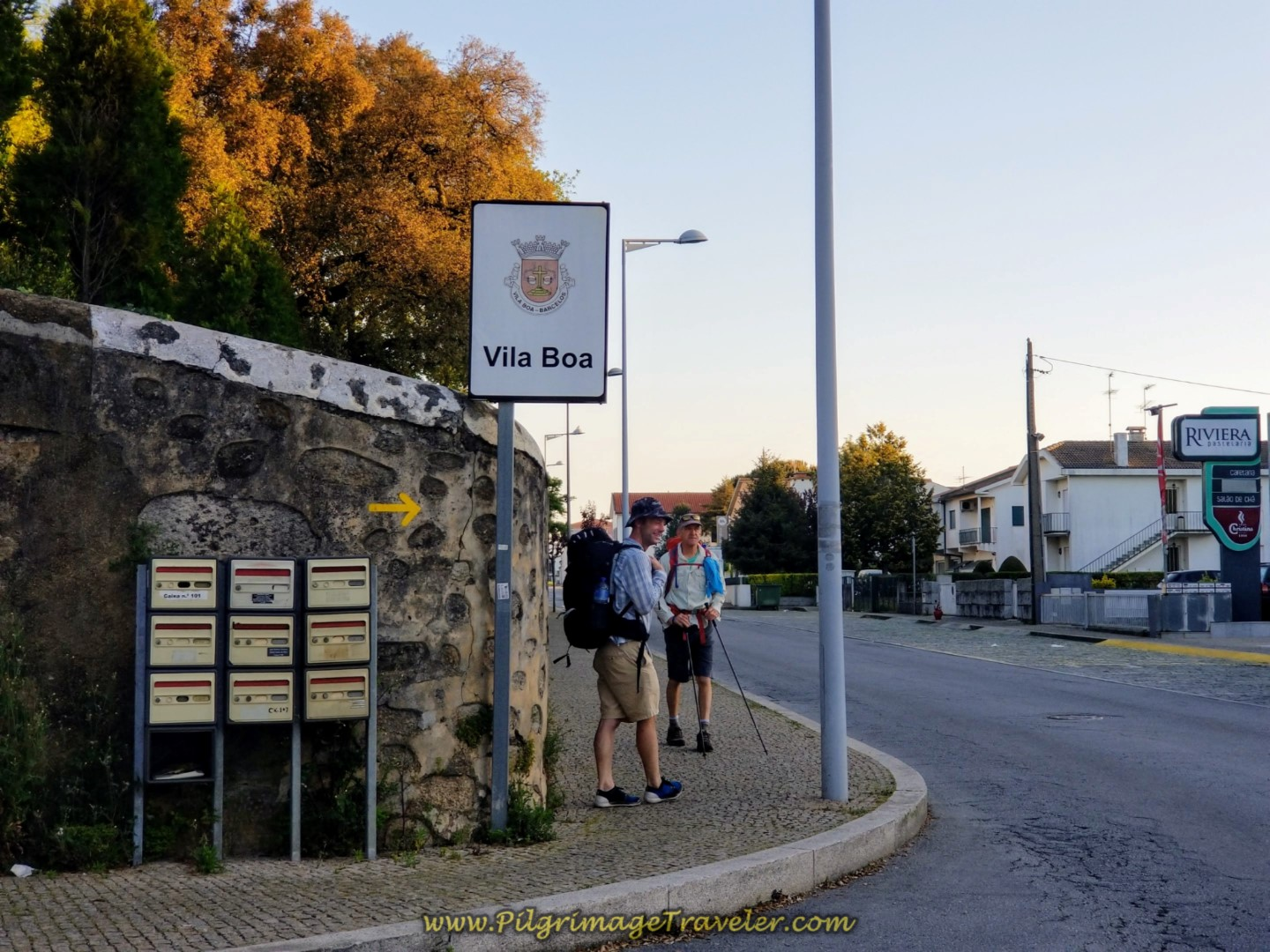 Welcome to Vila Boa on day seventeen on the Central Route of the Camino Portugués