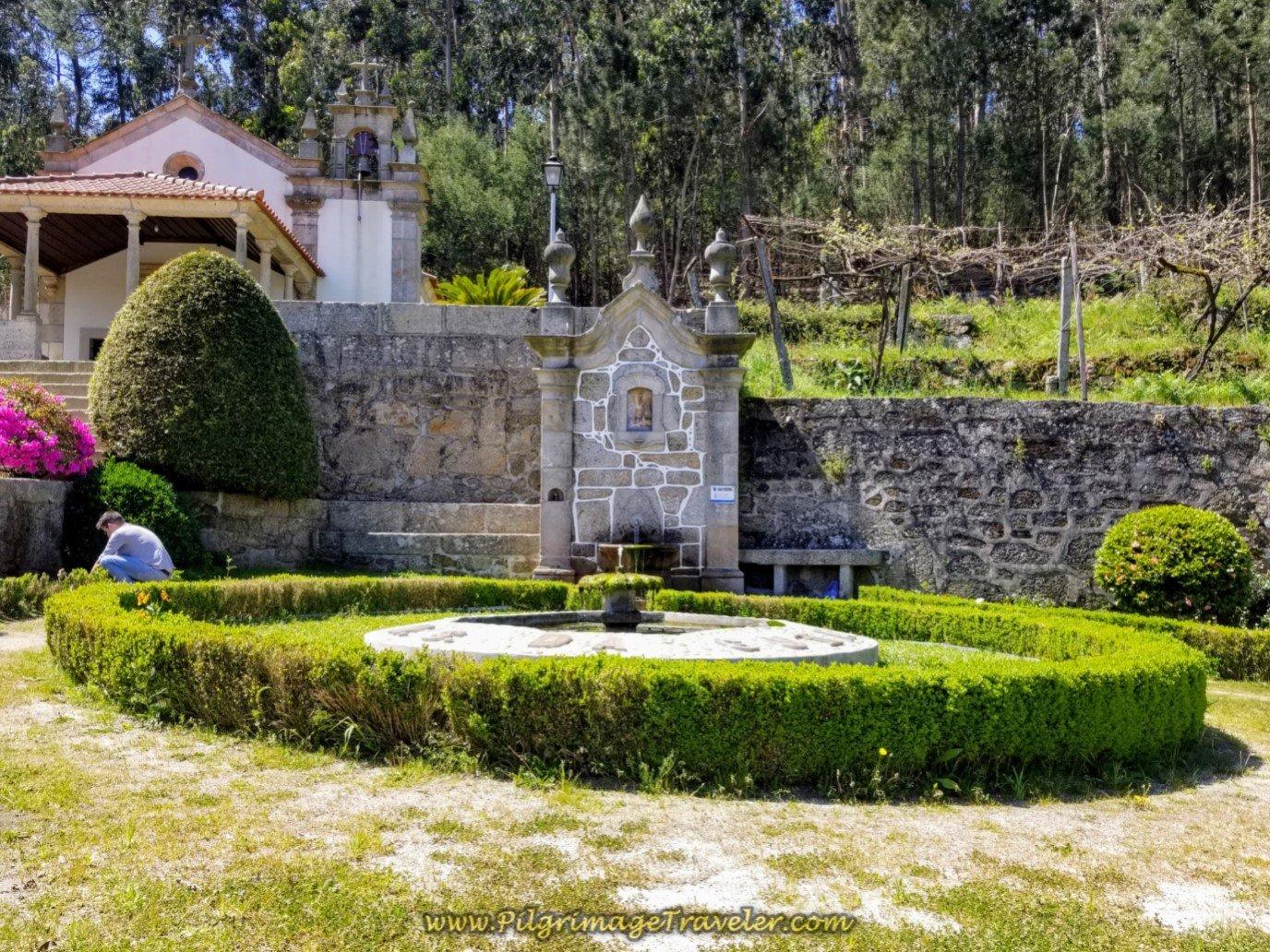 Fonte e Capela de Nossa Senhora da Guiaon on day sixteen on the Central Route of the Portuguese Way