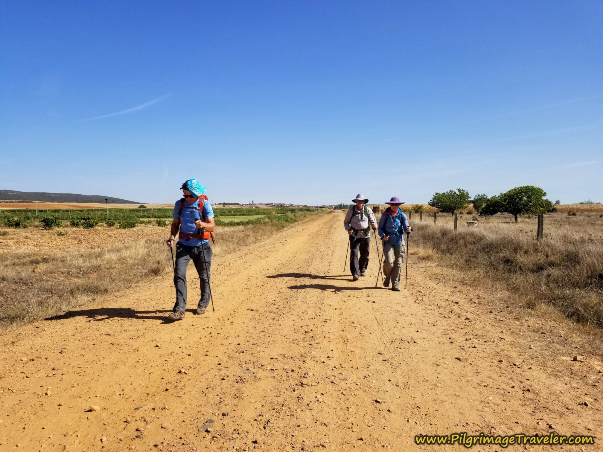 The 7K Afternoon Trudge to Tábara