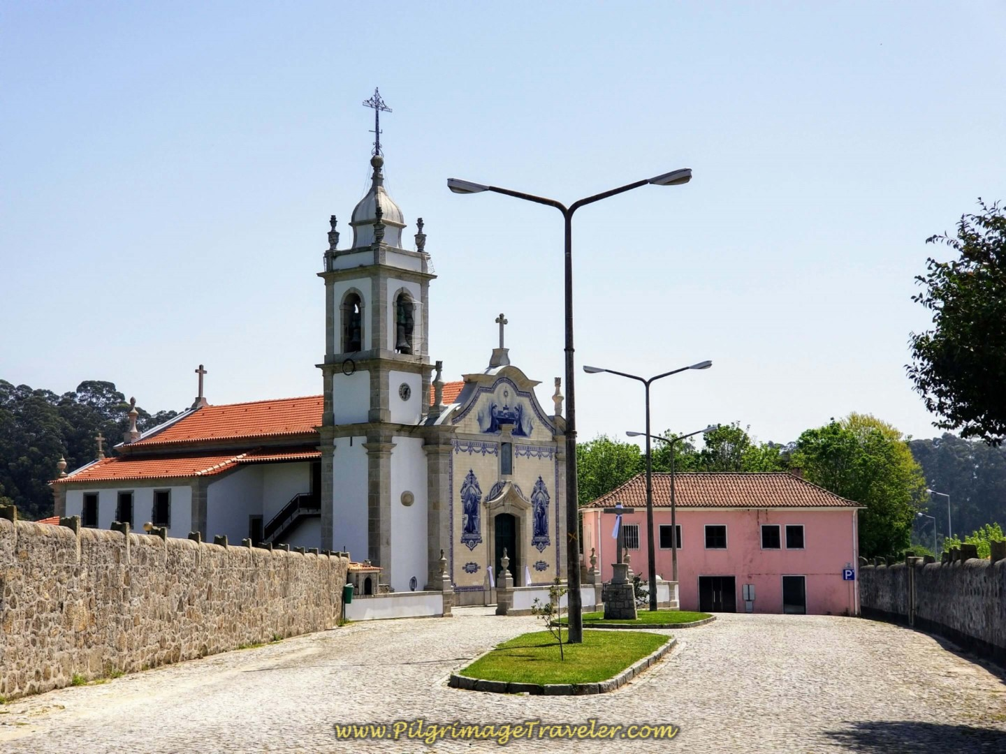 Igreja de Gião on day fifteen on the Central Route of the Portuguese Way
