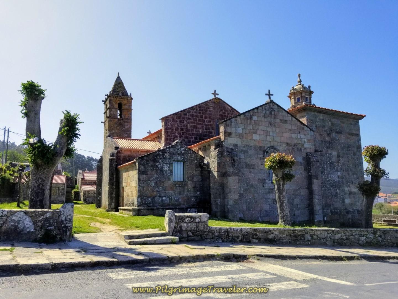 Iglesia de Santa María das Aeras, Fisterra, Spain
