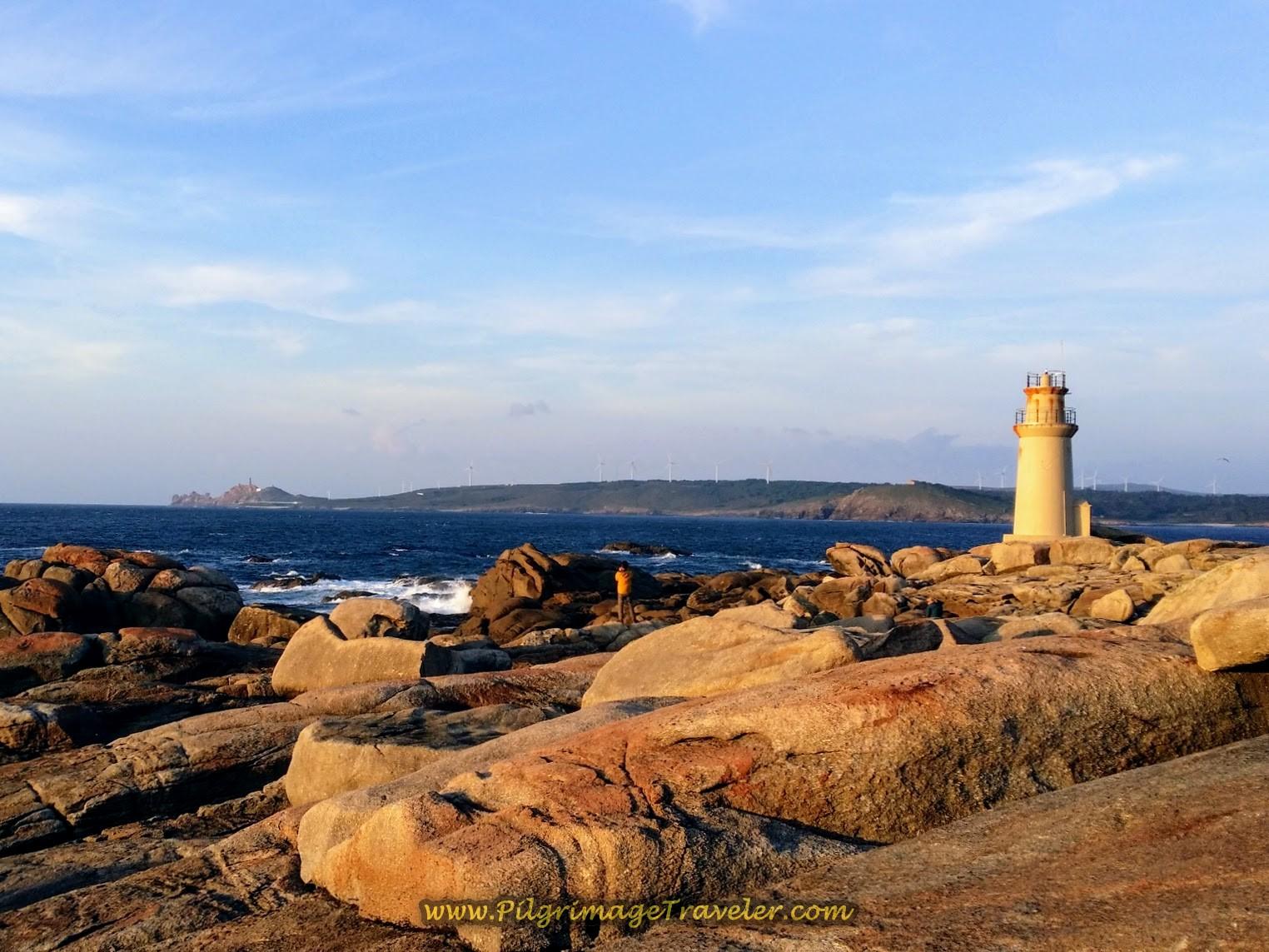 Lighthouse at Muxía, Spain