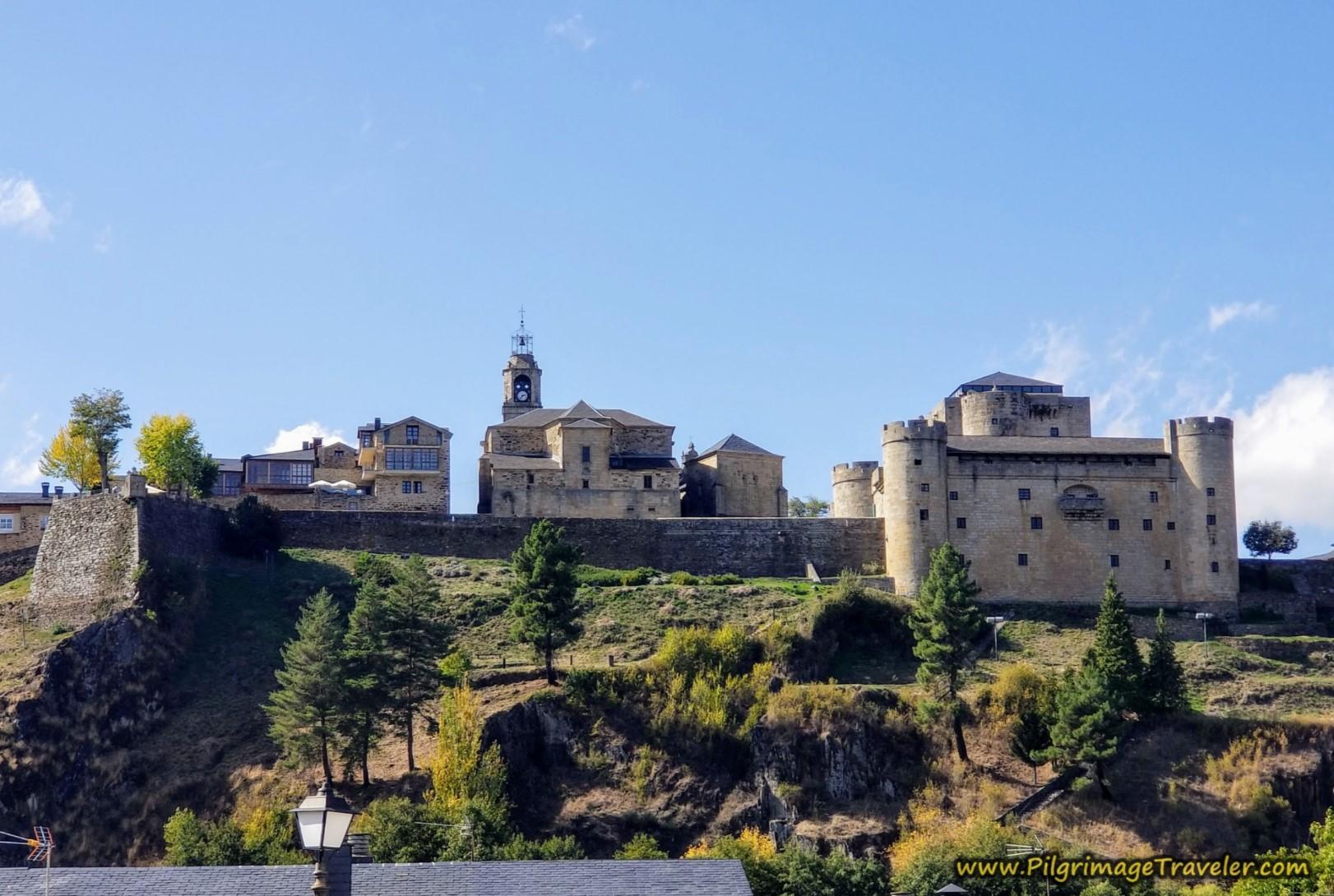 Puebla de Sanabria Fortress Hill