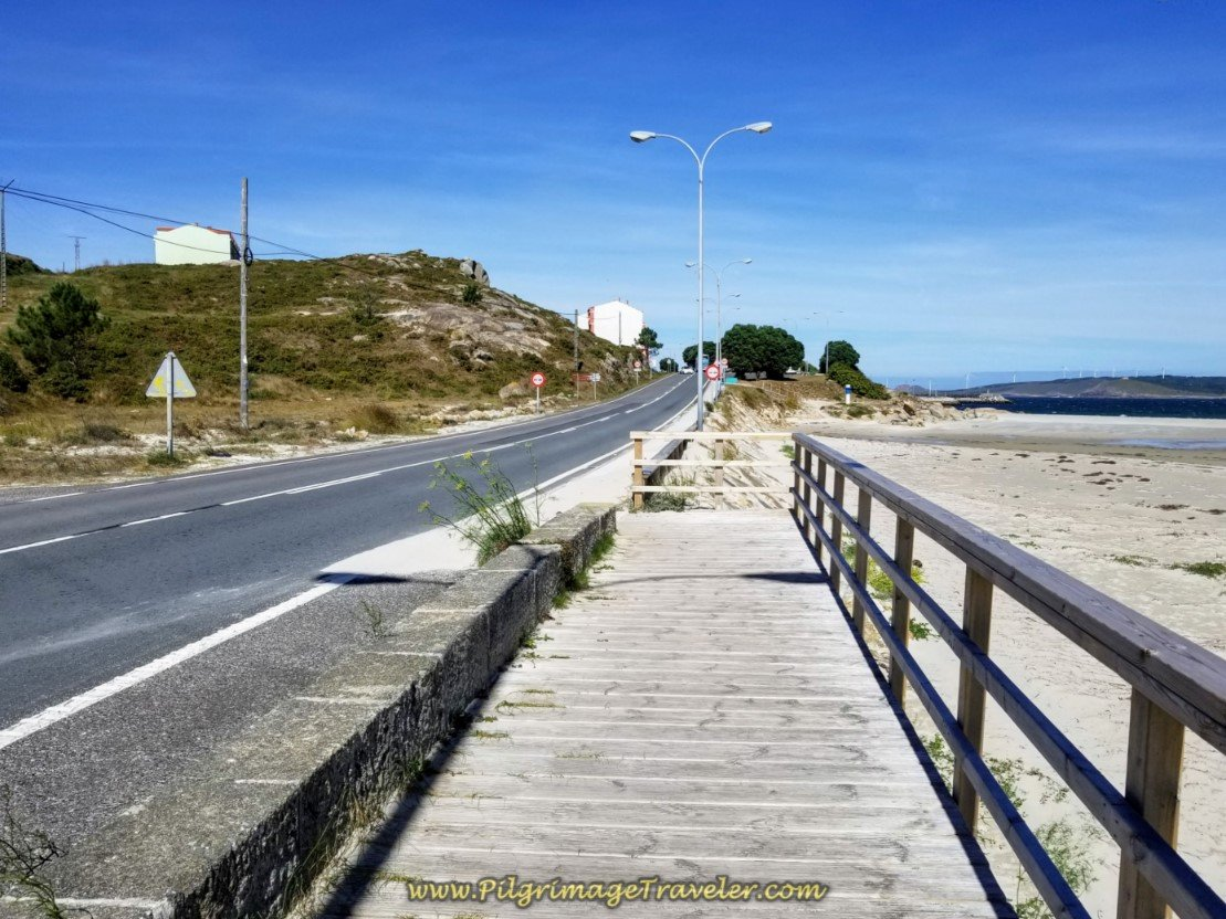 Boardwalk Ends at the AC-440 Junction