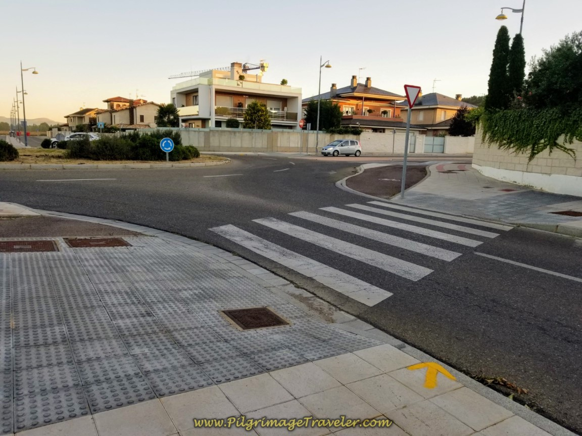 Third Roundabout, Turn Right on Calle Unicef