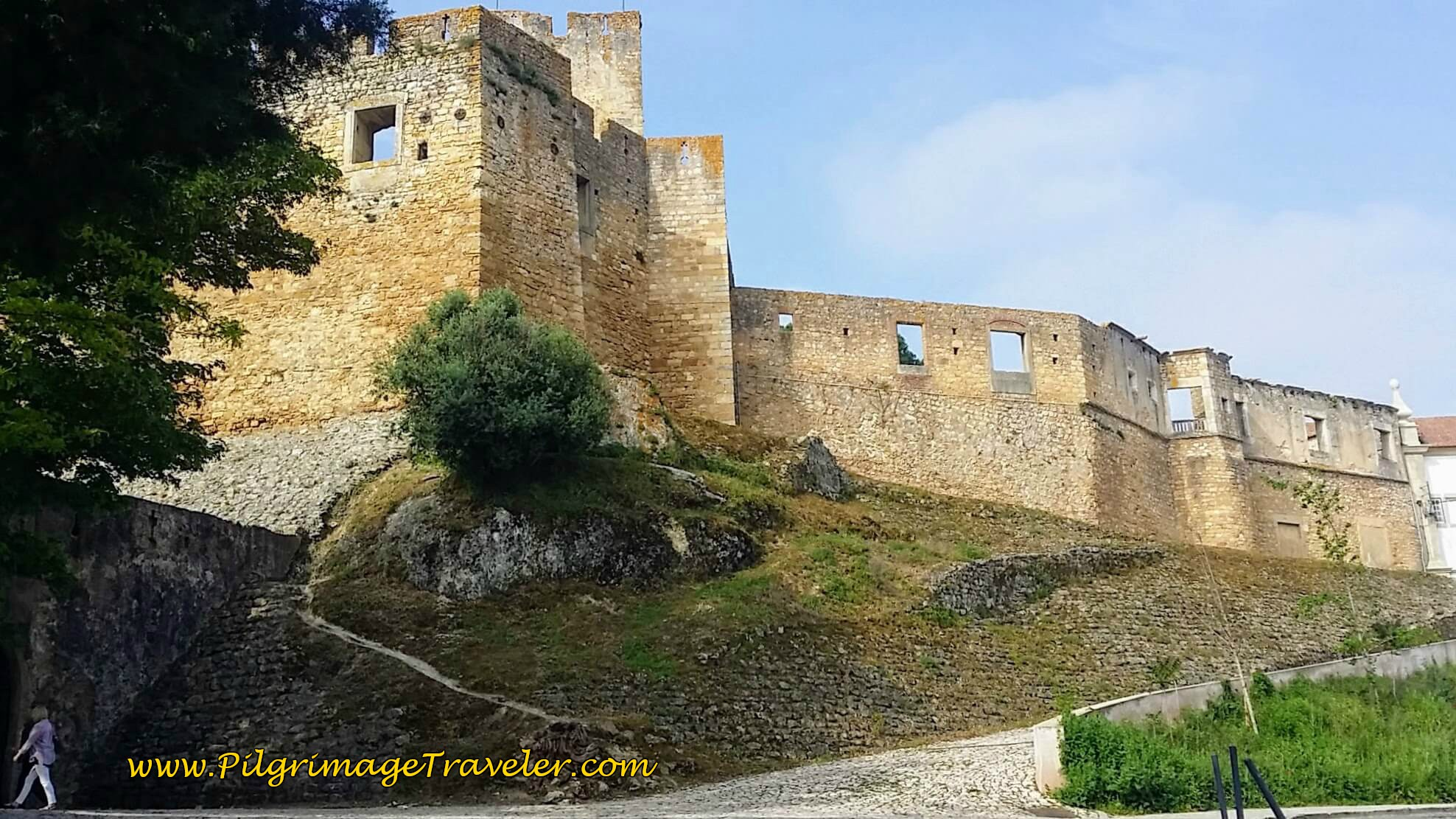 Main Fortress Wall of the Templar Castle, Tomar
