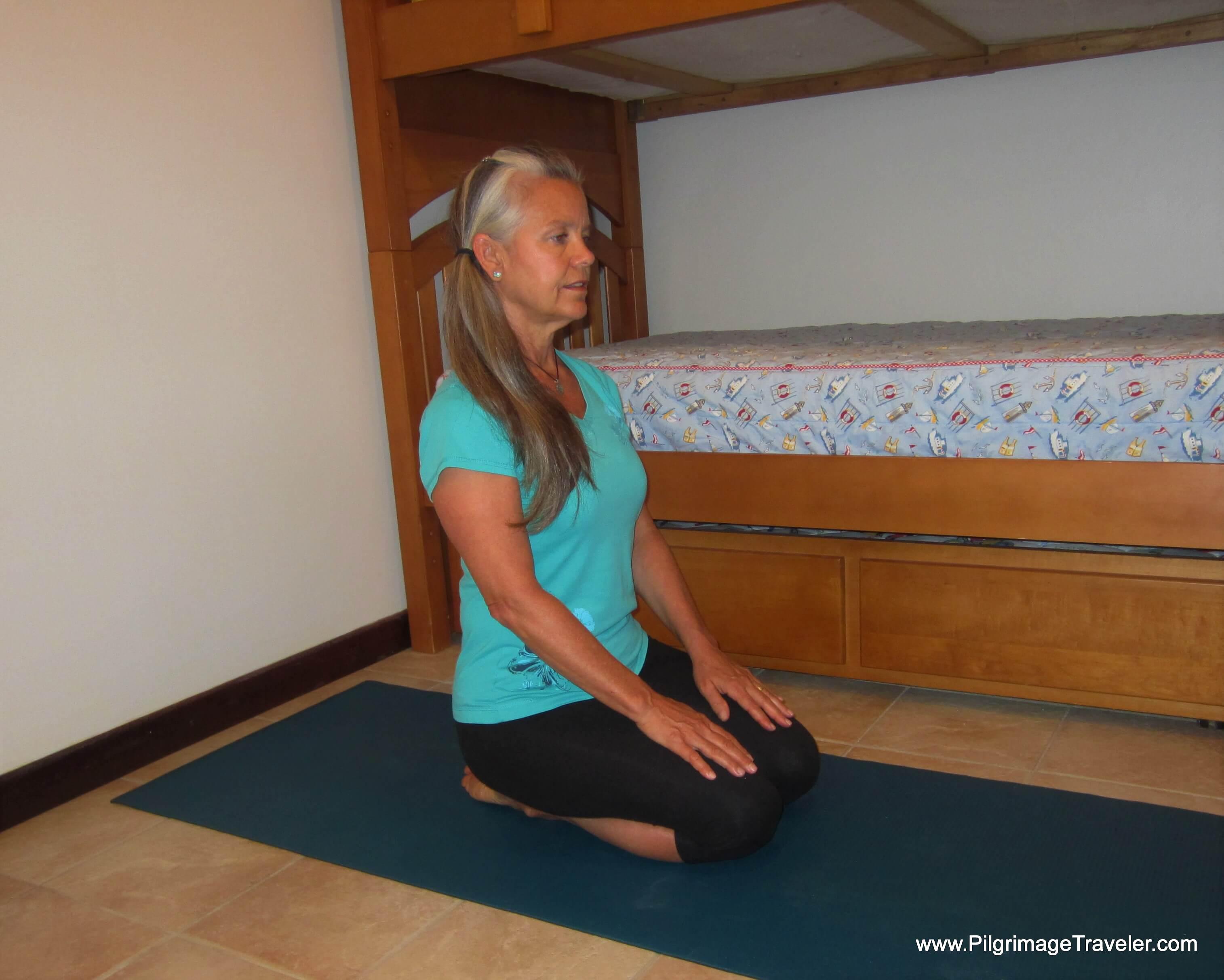 Ankle Plantar Flexion Stretch - Step One