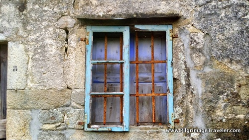 Painted Galician Window, Spain