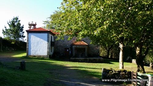 Ermita de Nosa Señora das Neves, Camino Finisterre, Galicia, Spain
