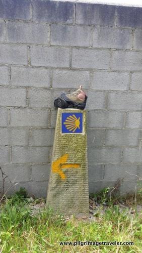 Camino Commemorative along the English Way to Santiago de Compostela