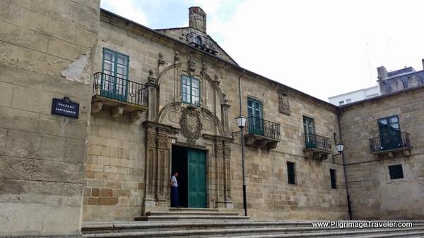 Palacio Episcopal in Lugo, Spain