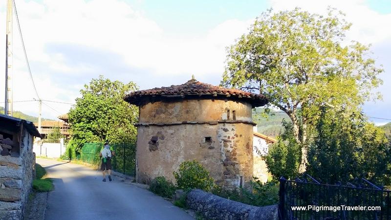 Entering the Hamlet of Llamas, Original Way, Asturias, Spain