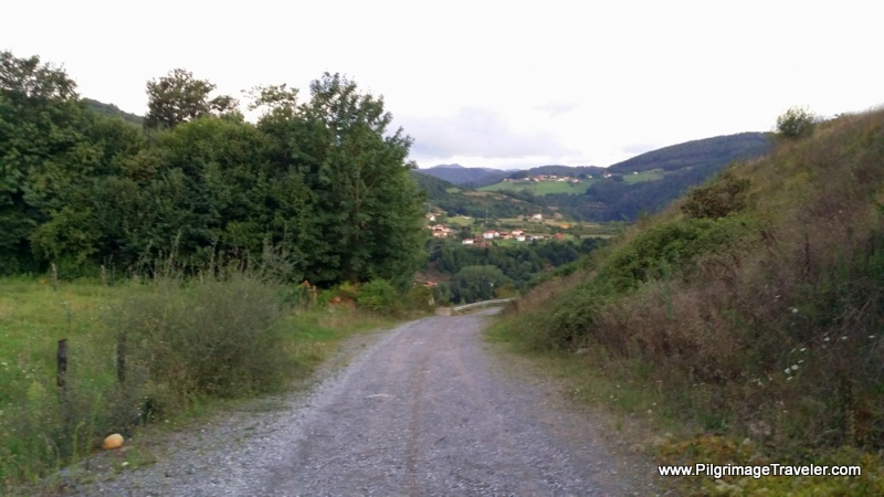 Inviting Country Lane, near Doriga, Asturias, Spain