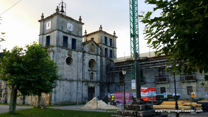 The Monastery of San Salvador de Cornellana, Asturias, Spain