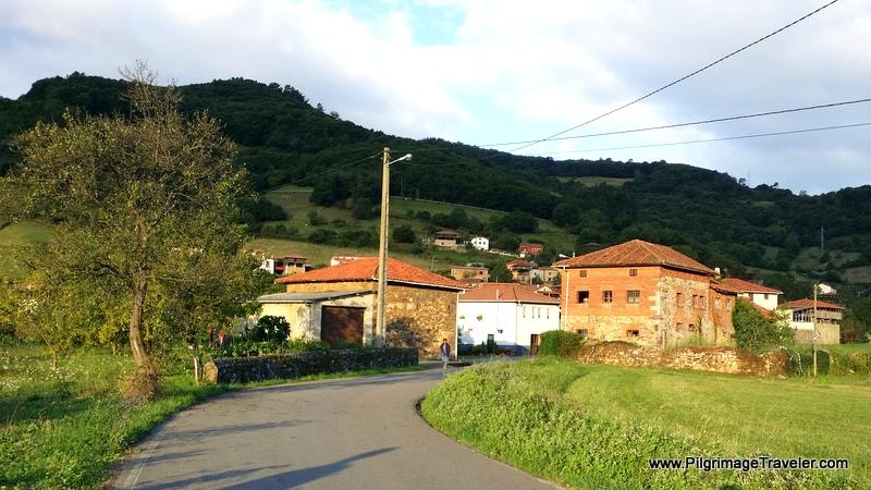 Sobrerriba in the Glowing Light, Asturias, Spain