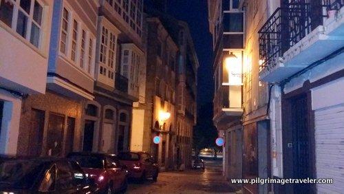 The Initial Steps thru Ferrol on the Camino Inglés