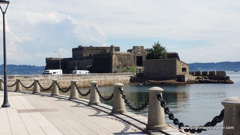 Castillo de San Anton, La Coruña, Galicia, Spain