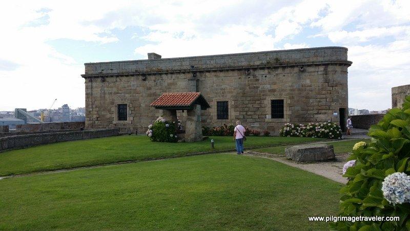 The gate to the Castillo de San Anton, La Coruña, Galicia, Spain