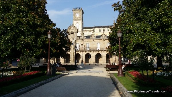 Town Hall on the Main Plaza, Lugo Spain