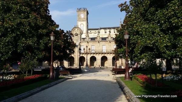 Town Hall on the Main Plaza, Lugo Spain